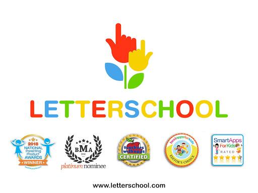 LetterSchool - Lu00e4r dig skriva!  trampa 8