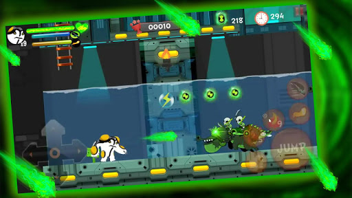 Alien Power Surge: Superhero Protector Transform 1.0 screenshots 5