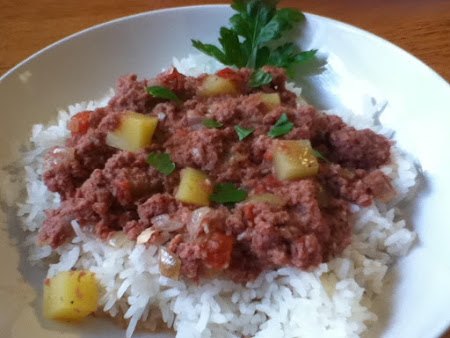 Corned Beef and Rice Recipe
