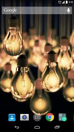 Lighting Bulb Live Wallpaper