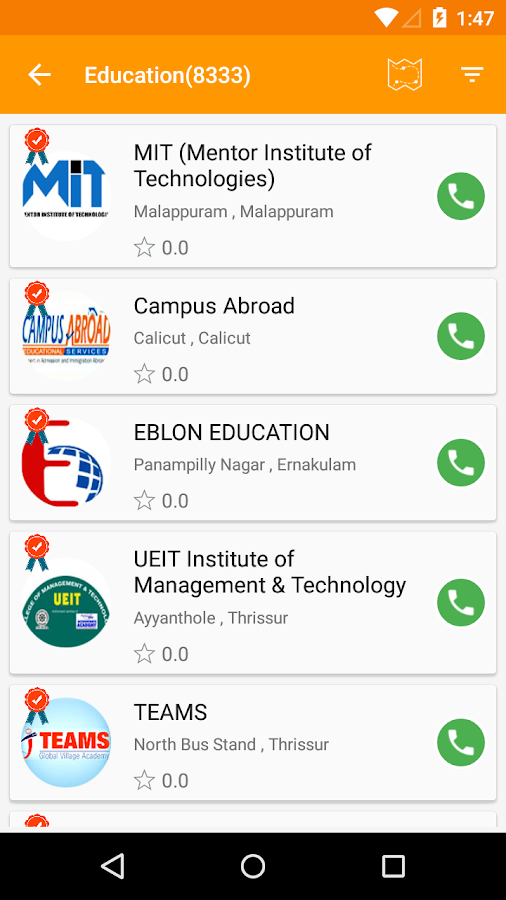 Quickerala - Kerala Business listings- screenshot