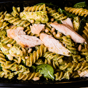Wholemeal Pasta with Pesto Sauce