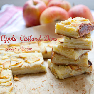 Apple Custard Bars Recipe