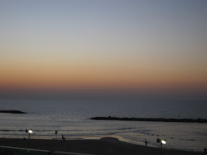 Photo: Tel Aviv sunset