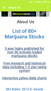 allmarijuanastocks- screenshot thumbnail