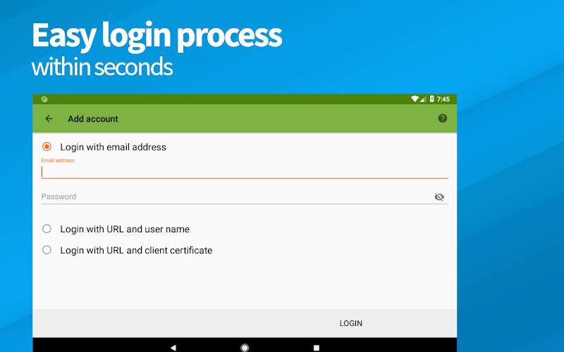 DAVx⁵ (DAVdroid) – CalDAV/CardDAV Client Screenshot 7