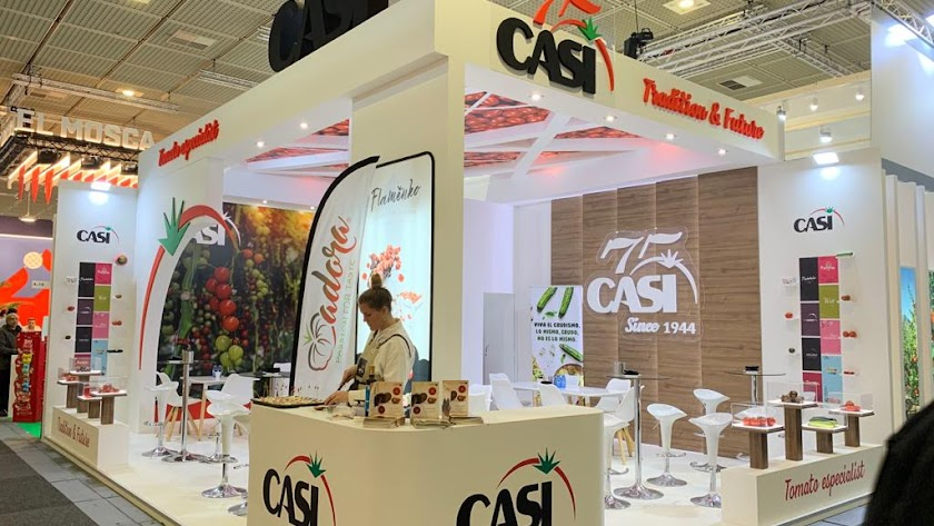 Stand de CASI en Fruit Logística 2020.