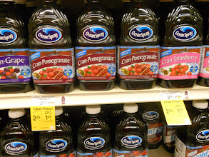Photo: Cranberry juice is a sweet tart way to get your day going.