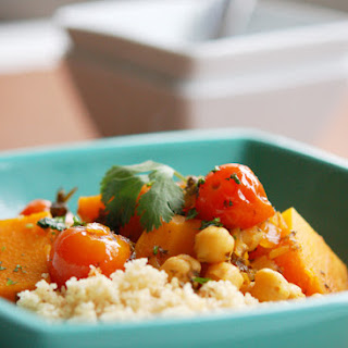 Taste of Morocco - Butternut Squash and Chickpea Tagine.