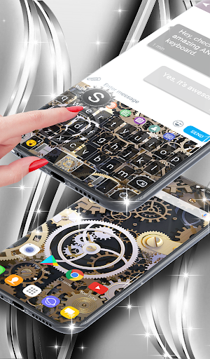 Mechanical Live Wallpaper & Animated Keyboard screenshot 4