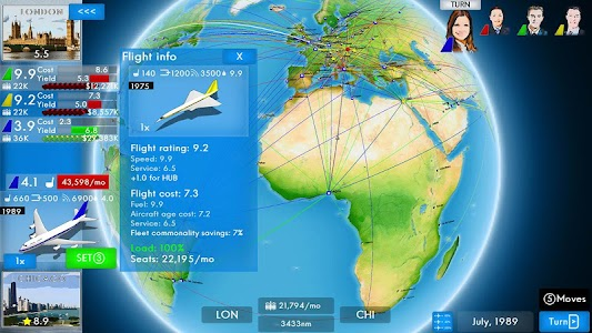 Airline Director 2 Tycoon Game 1.3.0