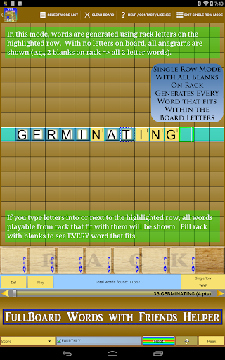 Words Helper 4 Friends  screenshots 8