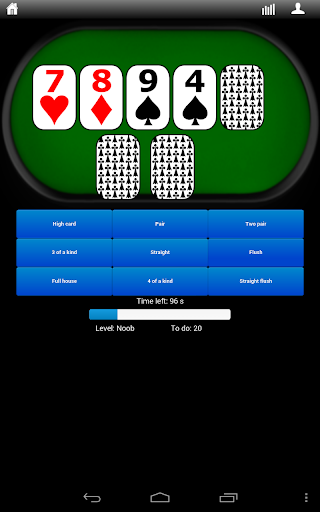 Poker Hands Trainer 3.0.4 screenshots 2