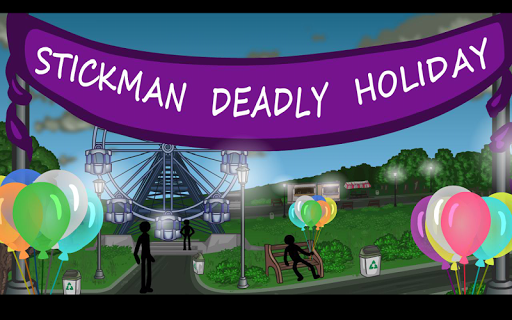 Stickman Deadly holiday
