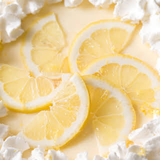 Creamy Sour Cream Lemon Pie.