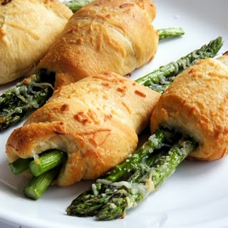 Asparagus Crescent Rollups