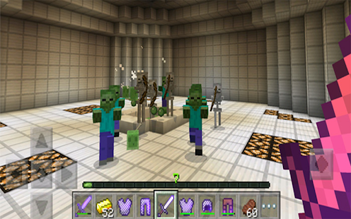 Zombie Arena MOD For MCPE - náhled