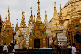 Photo: Year 2 Day 54 - And Yet More Stupas in Shwedagon Paya in Yangon