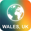 Wales, UK Offline Map icon