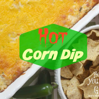 Kicked Up Hot Corn Dip.