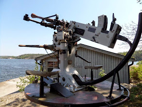 Photo: Bofors 25 mm luftvärnskanon.