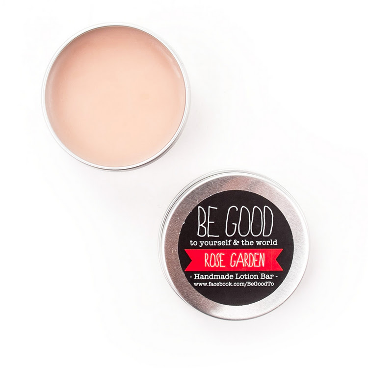 Rose Garden Lotion Bar - Moisturizer by BeGood