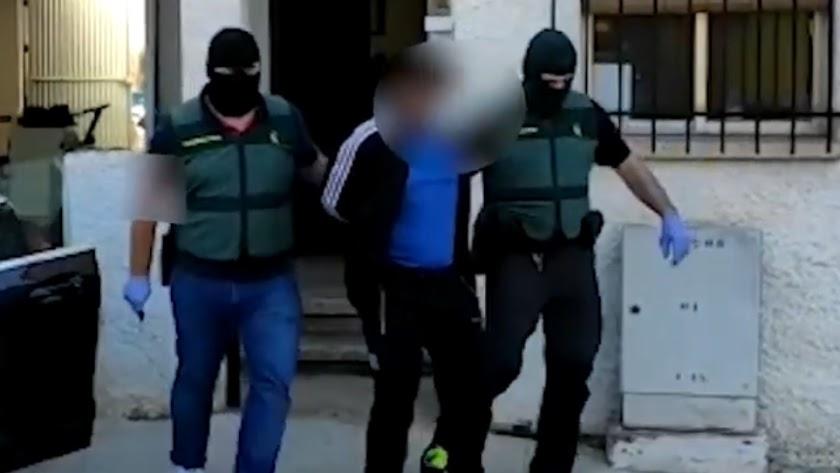 Detenciones de las operaciones Mula (oct. 2020).