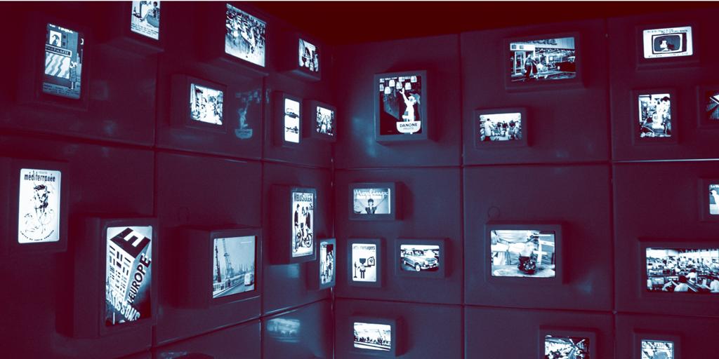 screens on walls