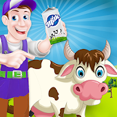 Milk Factory Farm Cooking Game