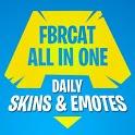 Battle Royale Skins, Emotes & Daily Shop – FBRCat icon