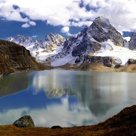 Heaven by Atif Abbas - Landscapes Mountains & Hills ( neelam valley, kel, keran, chitta katha, beautiful landscape, kashmir )