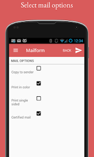 Mailform- screenshot thumbnail
