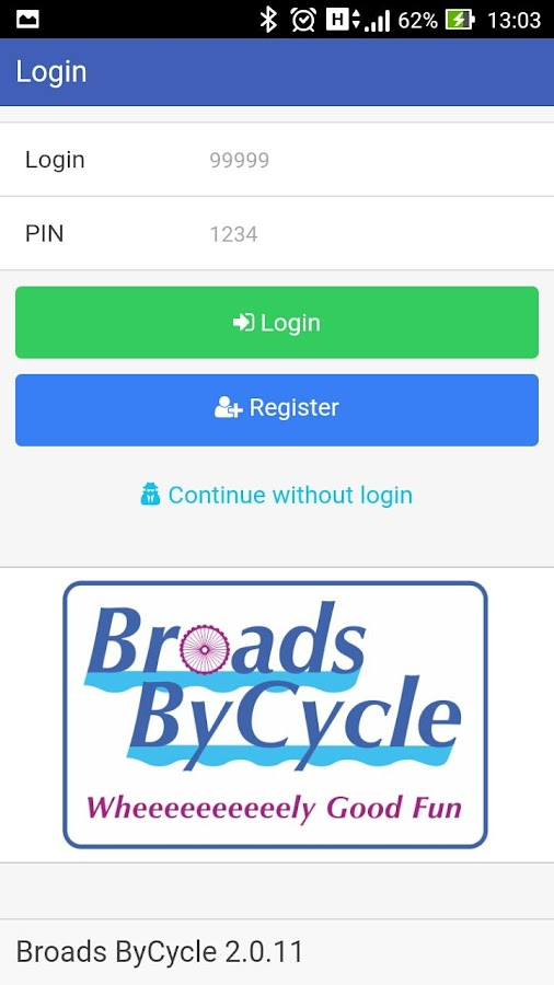 Broads ByCycle Broadlands- screenshot