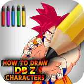 How to draw your amazing DBZ characters