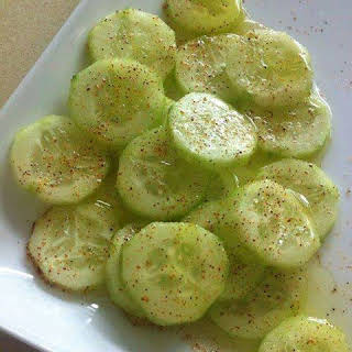 Cucumbers with a BANG!.