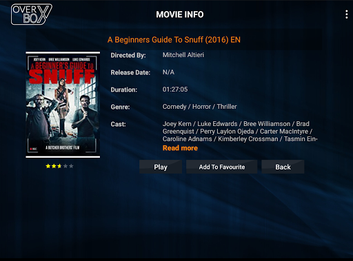 OverBox IPTV screenshot 5