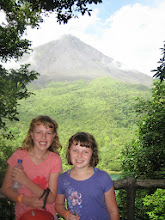 Photo: A view of the Arenal volcano!