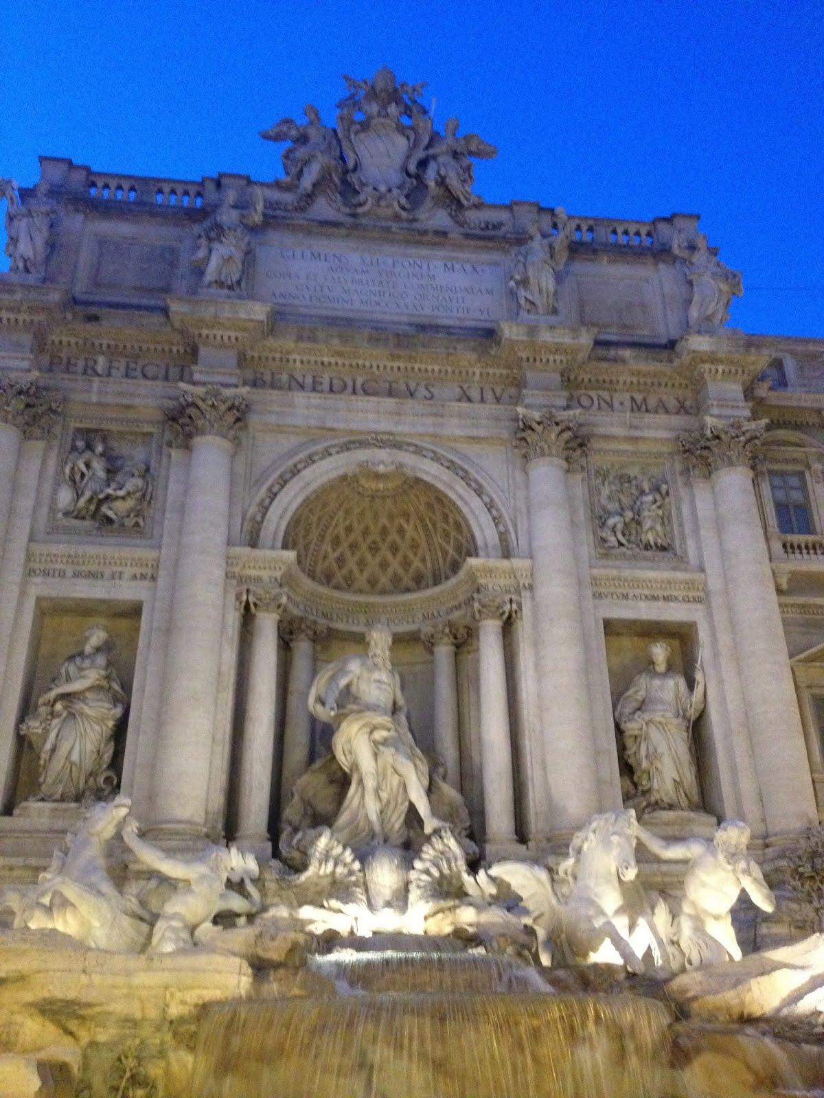 Trevi Fountain - Fountains of Rome