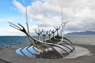Photo: 15.09.13 - Reykjavik Sun Voyager Sculpture