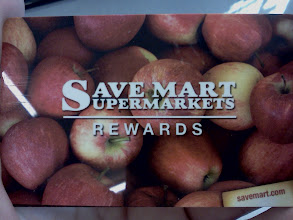 Photo: I made sure to have my Save Mart Rewards card ready, I use my rewards card every time, saving some money on gas is great!