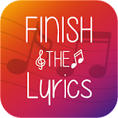 Finish The Lyrics - Free Music Quiz App Icon