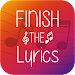 Finish The Lyrics - Free Music Quiz App icon