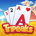Solitaire Farm : Classic Tripeaks Card Games icon