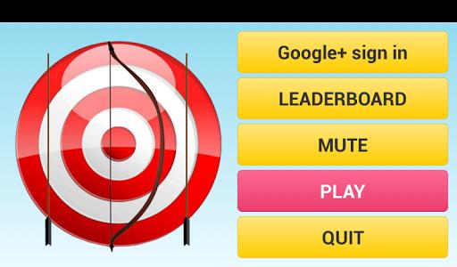 shoot target arrow