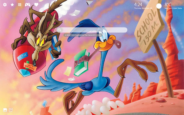 Looney Tunes Wallpapers New Tab