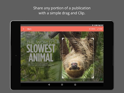 issuu: A world of magazines- screenshot thumbnail