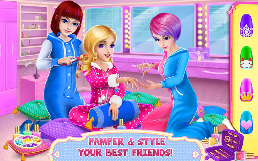 Girls PJ Party - Spa & Fun Screenshot