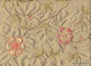Photo: Mysore 04 - Mirage Series Embroidery - Lime