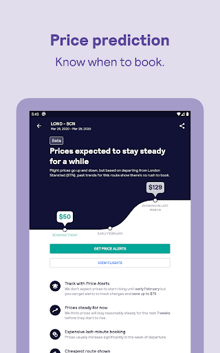 Skyscanner – cheap flights, hotels and car rental screenshot 12