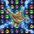Jewels Magic Lamp : Match 3 Puzzle